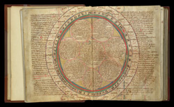 The kingdoms of the Anglo-Saxons, in the Chronicle of the Abbey of Hailes